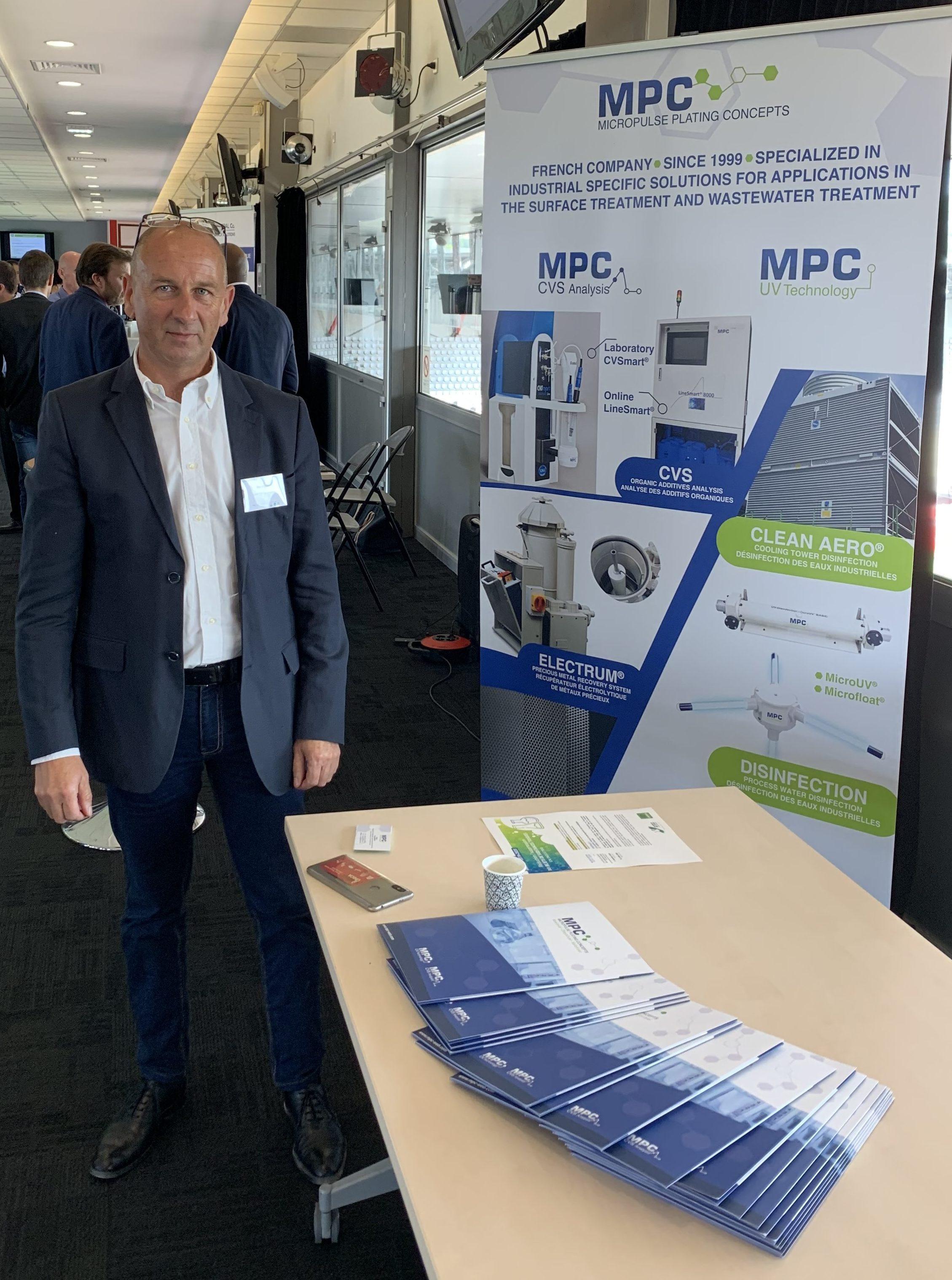 MPC présent à Hydreos- Journée technique nationale dépôts biofilms le 05/09/2019 à Nancy